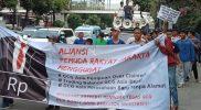 Aliansi Pemuda Rakyat Jakarta Tolak GCG Asia Masuk Indonesia