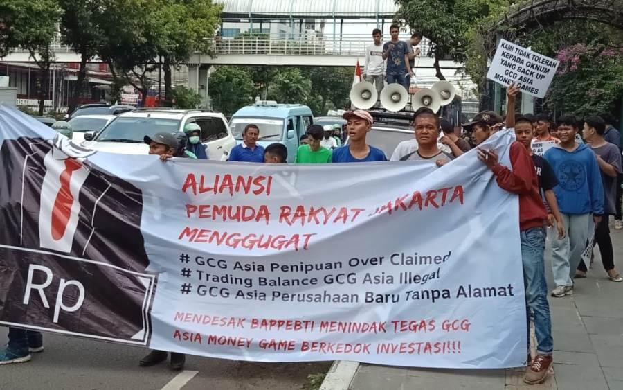 Photo of Aliansi Pemuda Rakyat Jakarta Tolak GCG Asia Masuk Indonesia