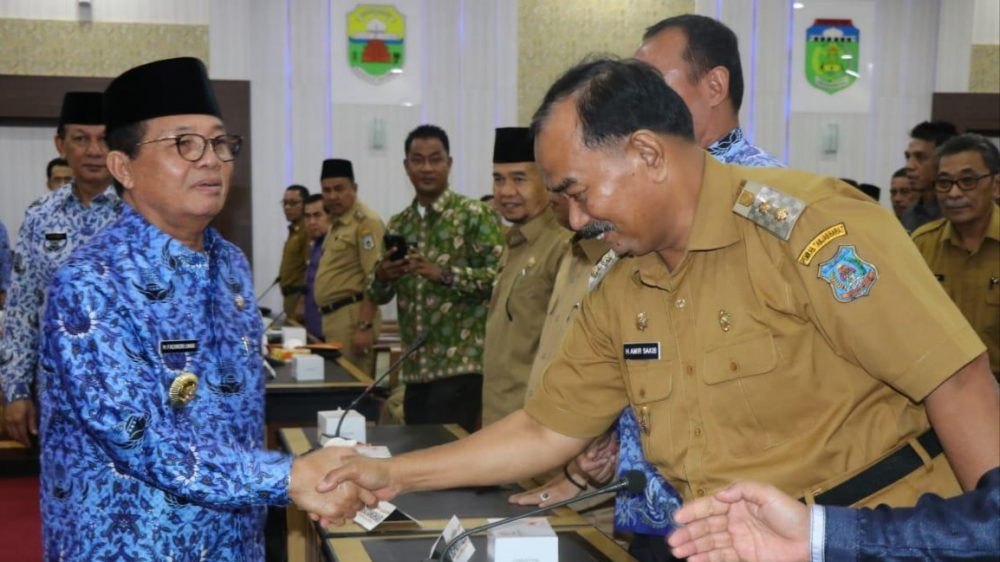 Photo of Wabup Amir Hadiri Rakor Pengawasan Daerah Tahun 2019