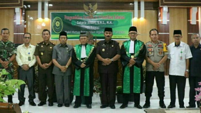 Photo of Wabup Hadiri Pelantikan Waket Pengadilan Agama