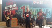 Ngupi Barenk Band Meriahkan Anniversary Boedoet Serpong Damai