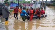 Data BPBD Kota Bekasi Ada 90 Titik Banjir, 391 Sekolah Terendam