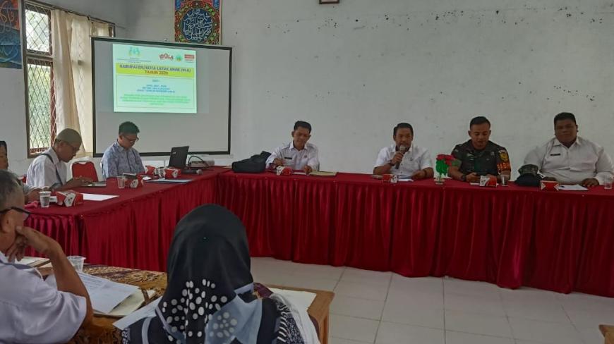Photo of Galang Komitmen Masyarakat, Pemerintah Kecamatan Tebing Tinggi Gelar Rakor Sosialisasi KLA