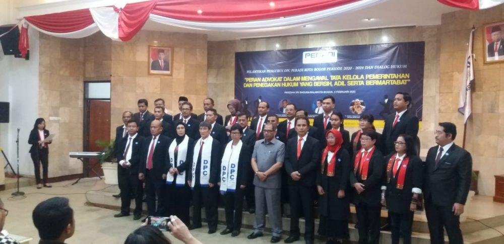 Photo of FPII Dan Peradi Kota Bogor Siap Sinergi Informasi Hukum