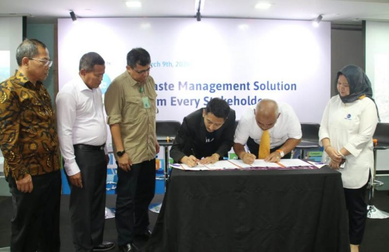 Penandatanganan MoU Smart City Tata Kelola Persampahan.