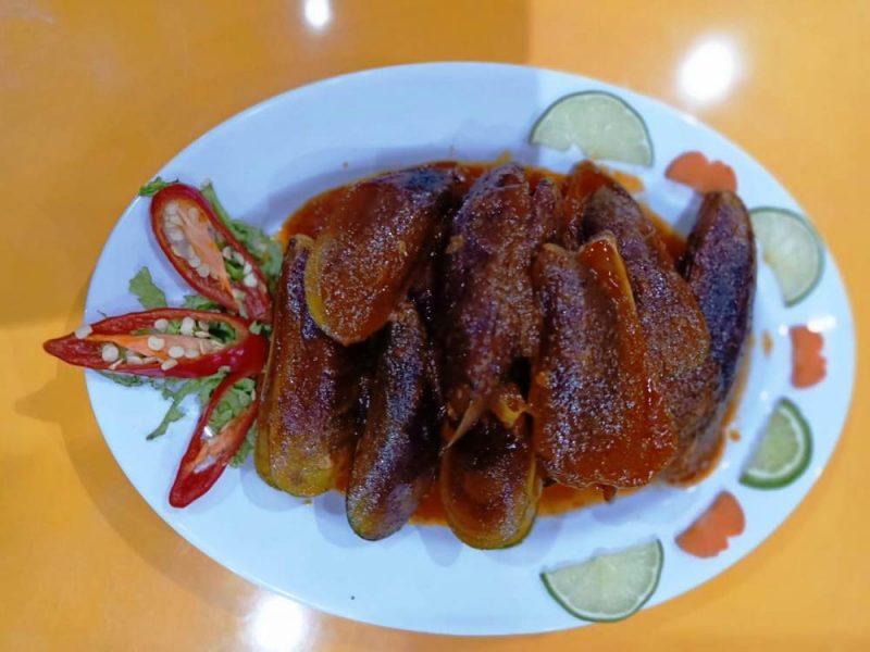 Salah satu menu lezat dari In & Out Seafood Bekasi.