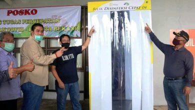 Photo of Bilik Disinfektan Canggih BDC04 dengan Sinar UV Diterima Kota Bekasi