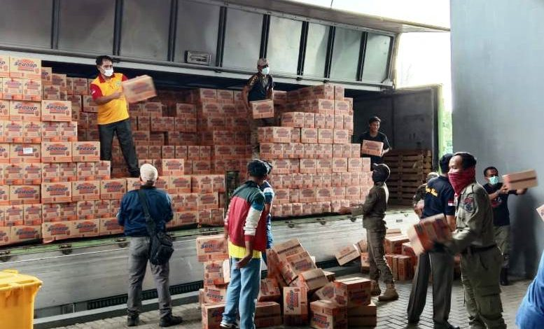 Sembako Diberikan Bertahap bagi 150 Ribu Rumah Tangga Terdampak Covid-19