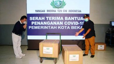 Photo of Yayasan Buddha Tsu Chi Bantu Kota Bekasi dengan 5000 Alat Rapid Test