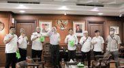 Harjduno Wiwoho melakukan audensi dengan Wakil Ketua DPR RI M. Azis Syamsuddin di ruang kerjanya, Gedung Nusantara III, Senayan, Jakarta, Rabu (27/5/2020).