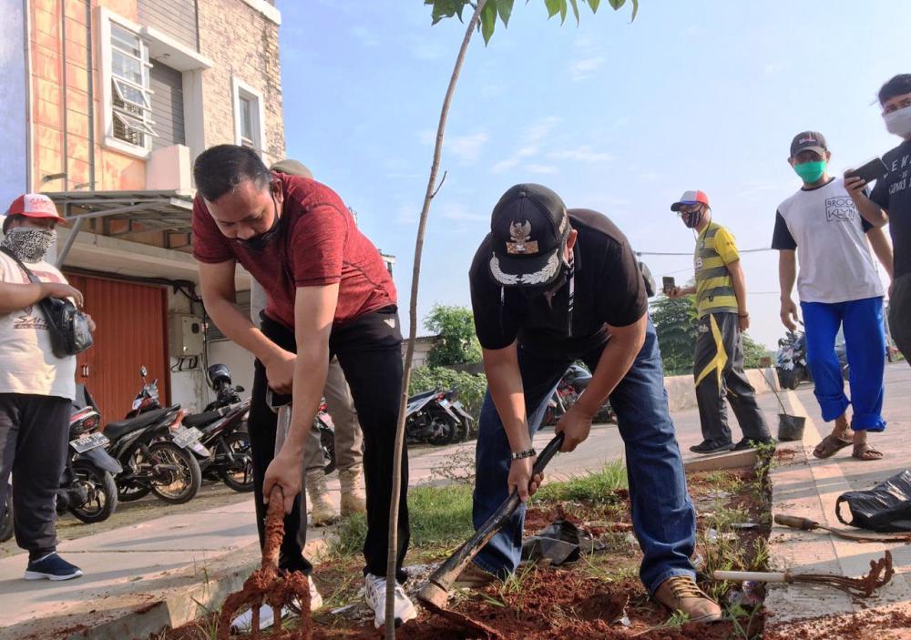 Ditanam 1000 Pohon, Ini Proyeksi Area CFD Baru di Kota Bekasi