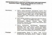 Photo of Pemkot Bekasi Perpanjang Masa ATHB hingga 2 Oktober Mendatang