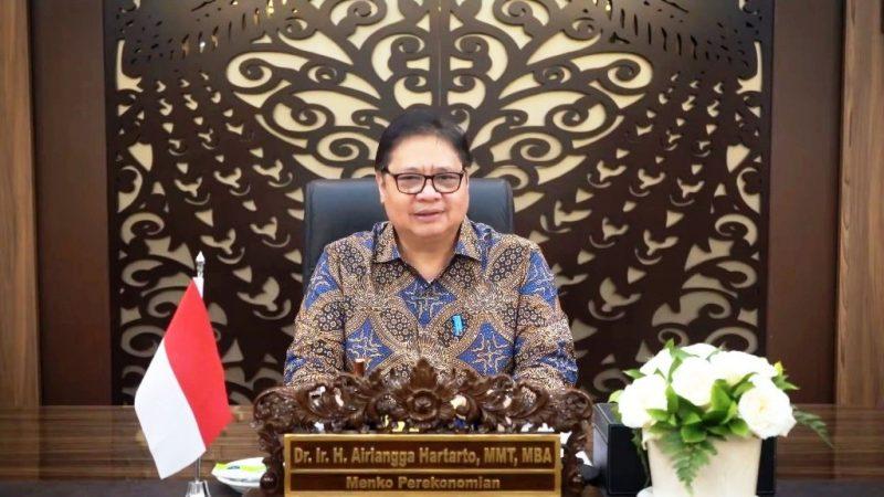 Menteri Koordinator Bidang Perekonomian Airlangga Hartarto. (Net)