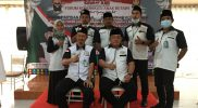 Foto bersama usai melakukan Musda ke III di Griya Wulan Sari, Marga Jaya, Bekasi Selatan, Minggu (4/4/2021).