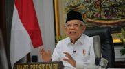 Wakil Presiden Republik Indonesia Ma'ruf Amin