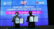 Gandeng Bank UOB, Jababeka Resicence Permudah Milenial Miliki Properti