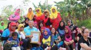 Abdul Hadie sapa hangat warga Tambun Selatan, Kabupaten Bekasi, Jawa Barat. Calon anggota DPR RI Provinsi Jawa Barat nomor urut 27