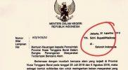 berbela sungkawa - surat edaran menteri dalam negeri