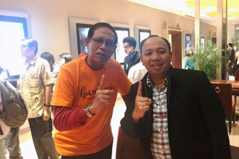 Pemeran Film Guru Ngaji Tarsan bersama anggota DPRD Kota Bekasi Ahmad Ustuchri