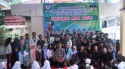 HMI Universitas Islam As Syafi'ah Berikan Santunan Anak Yatim