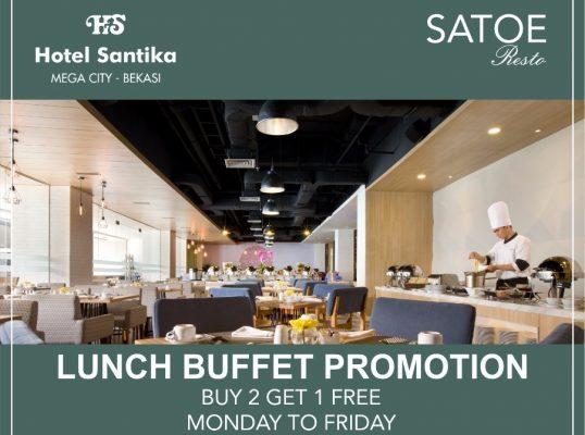 Photo of Hanya Sampai November, Makan Siang Sepuasnya di Hotel Santika