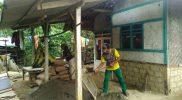Proses pengerjaan salah satu rumah penerima bantuan rutilahu. Foto: Istimewa