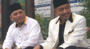Heri Koswara (kiri) dan Ahmad Syaikhu (kanan)