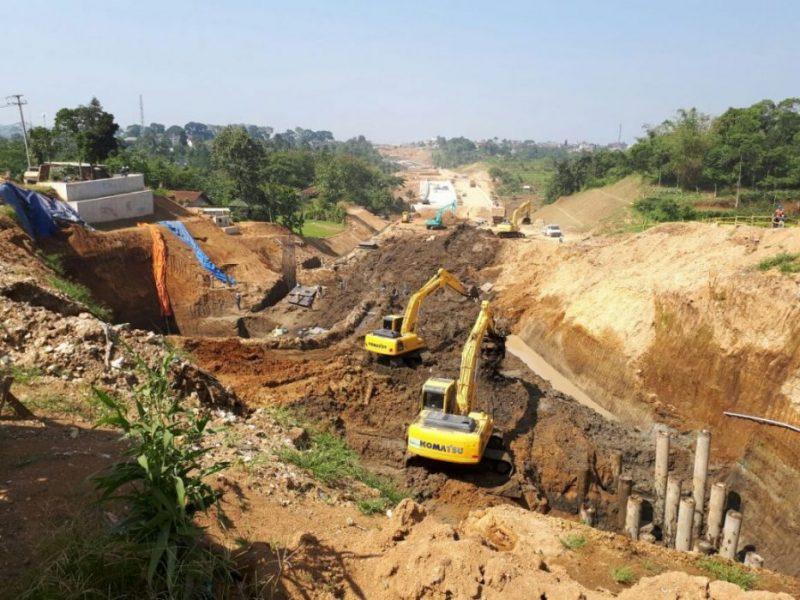 Mega Proyek Jalan Tol Ciawi Sukabumi (Cisuka-Bocimi). Foto: Cek/Suarapena.com