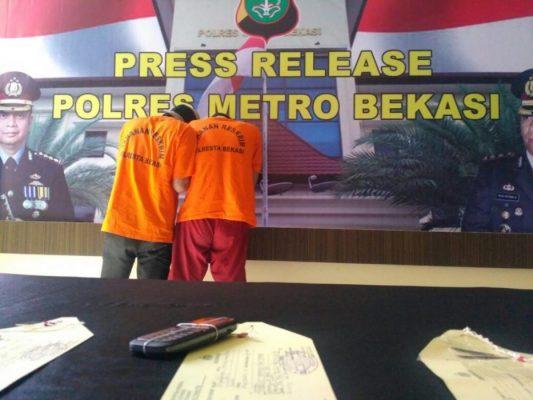 Photo of Polisi Bekuk Komplotan Perampok Spesialis Nasabah Bank di Cikarang