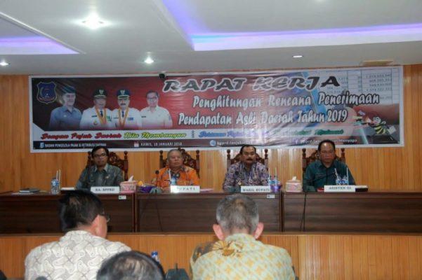Photo of Safrial Pimpin Rapat Penyusunan Target PAD