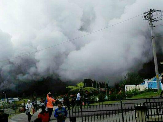 Photo of Kawah Seleri Dieng Meletus, Lokasi Wisata Ditutup untuk Umum
