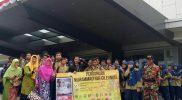 Guru Dan siswa Muhammadiyah Cileungsi berfoto usai nonton bareng film Nyai Ahmad Dahlan. Foto: cek/suarapena.com