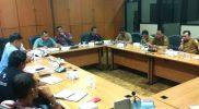 Rapat kerja Komisi IV DPRD Kab.Bekasi, bersama Dinas Tenaga Kerja Kab.Bekasi dan Konsulat Cabang FSPMI Kab/Kota Bekasi.