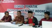 Diskusi dan Pengukuhan, ISRI Komitmen Jaga Kedaulatan Indonesia