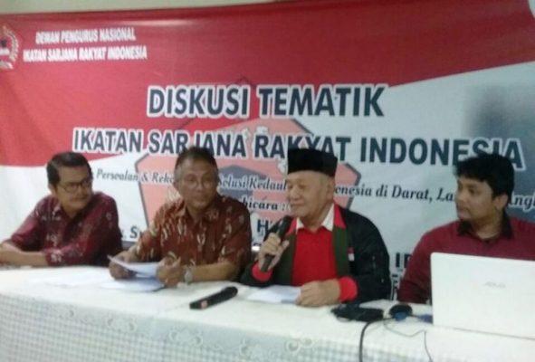Photo of Gelar Diskusi dan Pengukuhan, ISRI Komitmen Jaga Kedaulatan Indonesia
