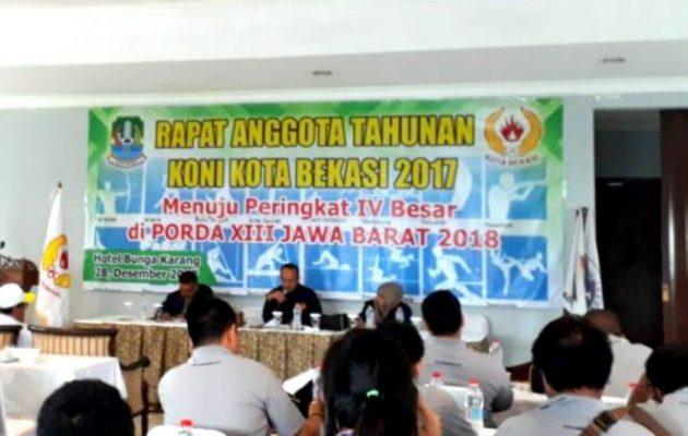 Photo of Tidak Banyak Mutasi Atlet, KONI Kota Bekasi Tunjukkan Pembinaan Serius
