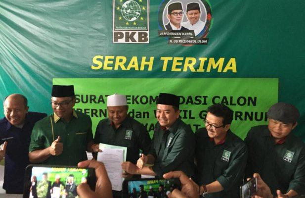 Photo of Ridwan Kamil dan Uu Ruzhanul Ulum Resmi Didukung PKB