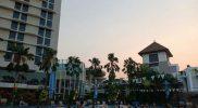 Aqua Zumba Robic Perebutkan Tiket Menginap di Hotel Santika KHI