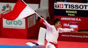 Karateka Indonesia Rifki Ardiansyah Arrosyid