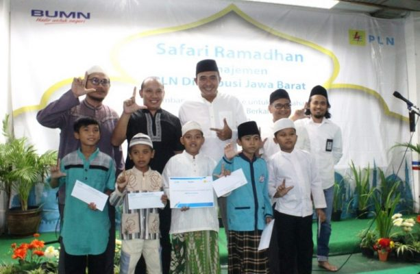 Photo of Safari Ramadhan, PLN Area Bekasi Berbagi Kebahagiaan dengan Anak Yatim
