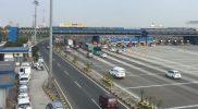 Kondisi lalulintas di depan gerbang tol cikarang utama, Jumat (1/9/2017) sore. Foto: Jasa Marga