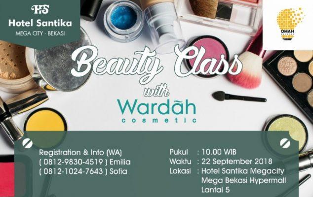 Photo of Untuk Perempuan, Beauty Class Segera Dibuka di Hotel Santika MCB