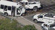 Kecelakaan bus gereja di Texas
