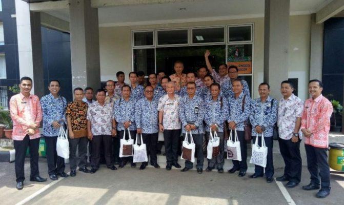 Photo of Juara Sinergitas Kinerja Kecamatan, Jonggol Bogor Kedatangan Tamu dari Jambi