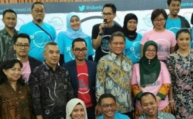 Photo of Dorong Ciptakan Konten Positif, Menkominfo Dukung Gerakan Literasi Siberkreasi