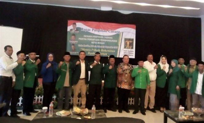 Photo of Rapimcab Kubu Djamaluddin, DPC PPP Kota Bekasi Usung M2 sebagai Calon Walikota