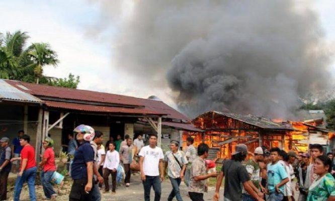 Photo of Rumah Bedeng Ludes Dilalap Api, 12 KK Kehilangan Tempat Tinggal